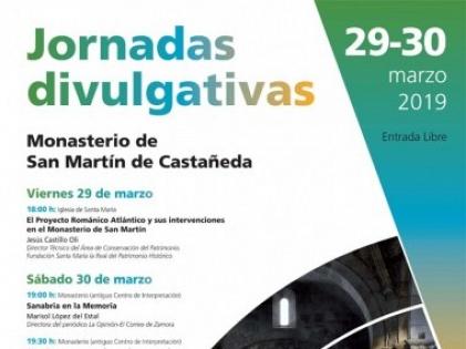Jornadas de difusión 2019 - San Martín de Castañeda