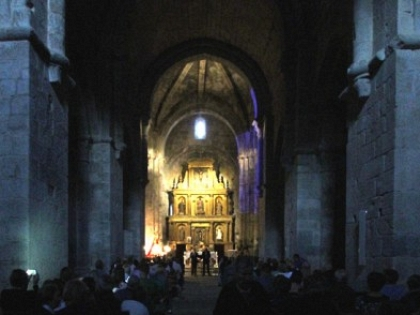 Medieval music in the church of San Martín de Castañeda