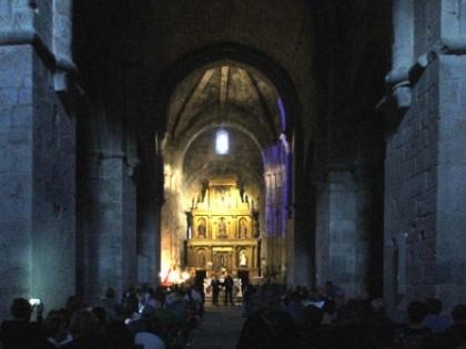 Medieval music in the church of San Martín de Castañeda