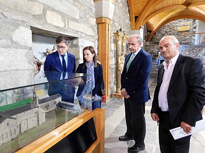 Abre sus puertas el punto de información de Románico Atlántico en San Martín de Castañeda