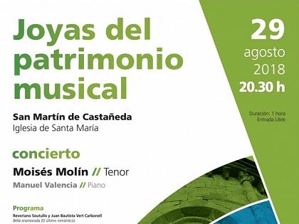 A igreja de San Martín de Castañeda volta a encher-se de música com o Românico Atlântico