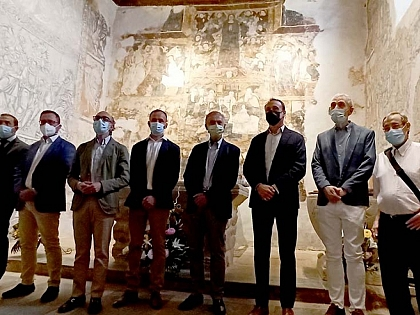 Románico Atlántico renueva la iluminación de la iglesia salmantina de Carrascal de Velambélez