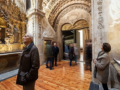 20.000 personas han visitado la iglesia de San Martín de Tours en Semana Santa