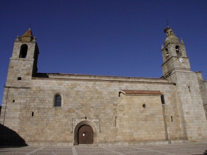 The work in the church of San Felices de los Gallegos will guarantee the conservation of the church.