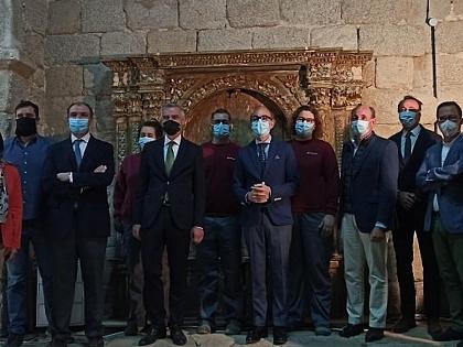 Románico Atlántico trabaja para valorizar y recuperar la ermita de Muga de Sayago