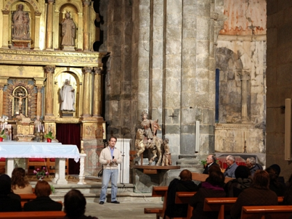 The Restoration work has begun on the church of San Martín de Castañeda