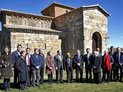 Inauguración oficial San Pedro de la Nave