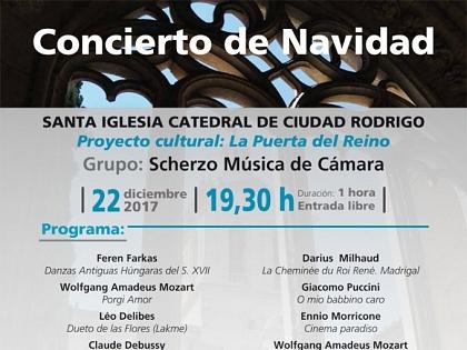 Concierto de Navidad en la catedral de Ciudad Rodrigo