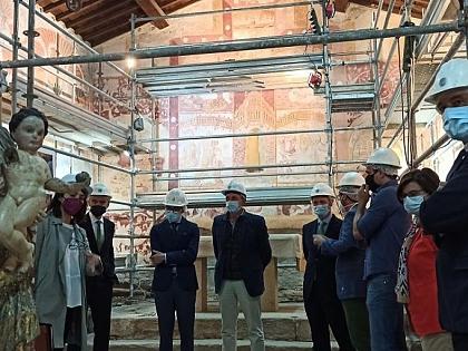 Románico Atlántico works to enhance and recover the hermitage of Muga de Sayago