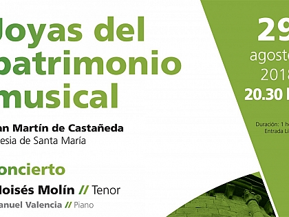 The church of San Martín de Castañeda will once again fill up with music with Atlantic Romanesque