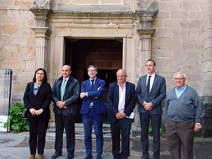 O ponto de informação do Românico Atlântico abre as portas em San Martin de Castañeda