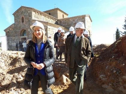 Románico Atlántico concluirá este año el acondicionamiento de San Pedro de la Nave