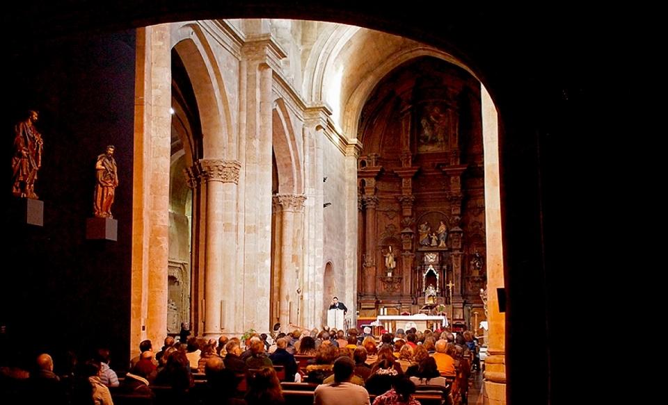 Visita a San Martín, Salamanca