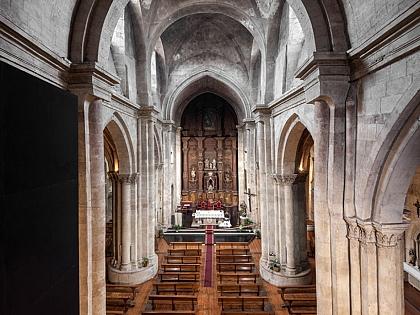 A igreja de San Martín reabre as suas portas com visitas guiadas